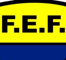 Ecuador Soccer Logo Sticker