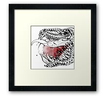 The Guesser is a Mess Framed Print