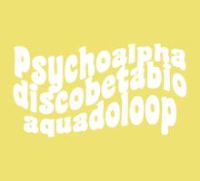 Psychoalphadiscobetabioaquadoloop One Piece - Short Sleeve