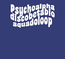 Psychoalphadiscobetabioaquadoloop Womens Fitted T-Shirt