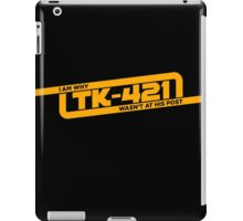 TK-421 iPad Case/Skin
