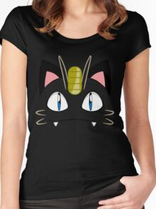 Meowth Women's Fitted Scoop T-Shirt