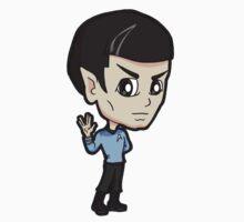 Star Trek TOS - First Officer Spock Chibi by Zphal