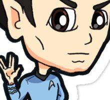 Star Trek TOS - First Officer Spock Chibi Sticker