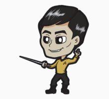 Star Trek TOS - Lieutenant Hikaru Sulu Chibi by Zphal