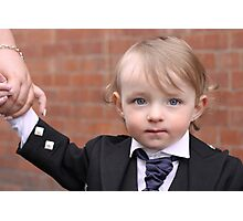 Formal Little Man Photographic Print