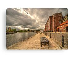 Exeter Quay  Canvas Print