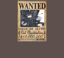 Wanted - Ciel Phantomhive Womens Fitted T-Shirt