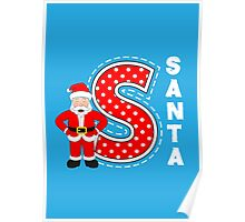'S' is for Santa! Poster