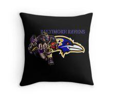 Baltimore Ravens Superbowl 50! Throw Pillow