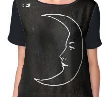 La Luna - Tarot in Black Chiffon Top