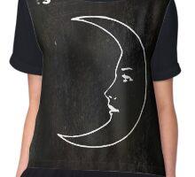 La Luna - Tarot in Black Chiffon Top