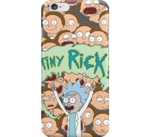 Rick and Morty Tiny rick iPhone Case/Skin