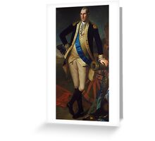 George Washington, after 1779 Greeting Card
