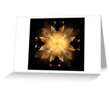 Shapes in Symmetry Greeting Card