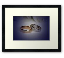 To have and to hold.. Framed Print