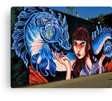 Dragon Lady Canvas Print