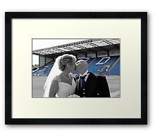 A Blue Do! Framed Print