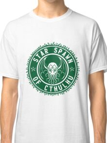 Star Spawn of Cthulhu - classic green Classic T-Shirt