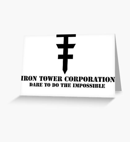 Iron Tower Corporation Greeting Card