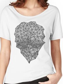 Black Heart Women's Relaxed Fit T-Shirt