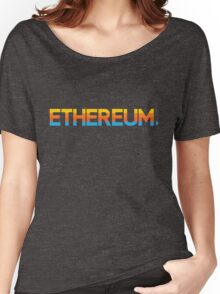Ethereum, Period. Women's Relaxed Fit T-Shirt