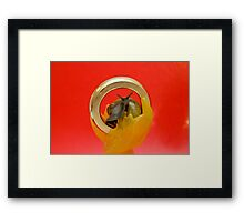 One Snail To Rule Them All Framed Print