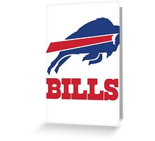 buffalo bills Greeting Card