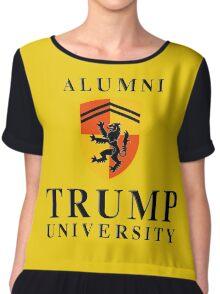 Trump University Alumni Chiffon Top