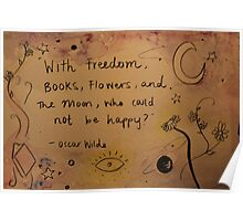 Oscar Wilde  Poster