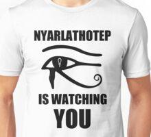 Nyarlathotep is watching you Unisex T-Shirt
