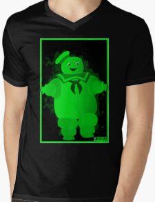 BUSTED Mens V-Neck T-Shirt