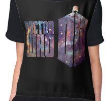 dr who galaxy Chiffon Top