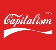 Enjoy Capitalism Baby Tee