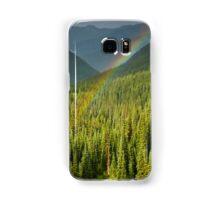 Rainbow and Sunlit Trees Samsung Galaxy Case/Skin