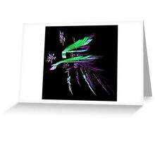 Colorful Chaos Greeting Card