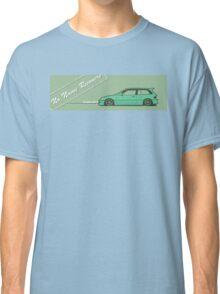 honda civic ef hatchback Classic T-Shirt