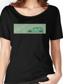 honda civic ef hatchback Women's Relaxed Fit T-Shirt