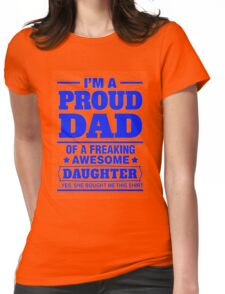 Proud Dad - Father's Day Womens Fitted T-Shirt