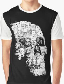 horror skull Graphic T-Shirt