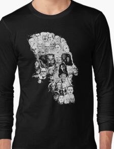 horror skull Long Sleeve T-Shirt