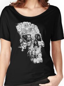 horror skull Women's Relaxed Fit T-Shirt