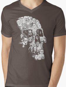 horror skull Mens V-Neck T-Shirt