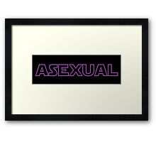 Asexual - Star Wars Framed Print