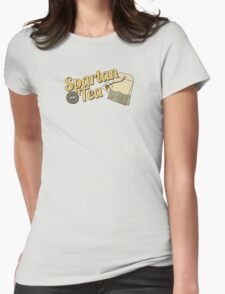 Spartan Tea Womens Fitted T-Shirt