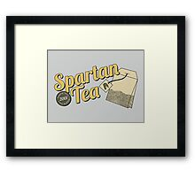 Spartan Tea Framed Print