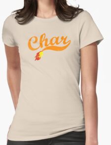 Char Womens Fitted T-Shirt