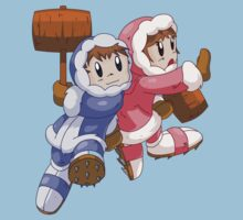 Ice Climbers Popo & Nana by trakker1985