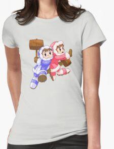 Ice Climbers Popo & Nana Womens Fitted T-Shirt