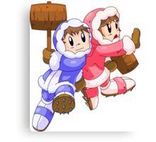 Ice Climbers Popo & Nana Canvas Print